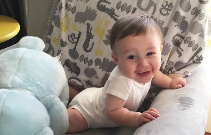 Gabriel is 8 months