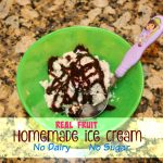 5 Minute Homemade Ice Cream + Summer Nights