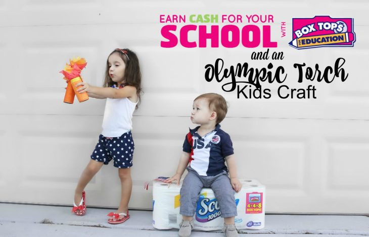 Back to School: Earn Double Box Tops for Education + DIY Kids Craft