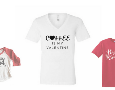 Valentine's Day Tees for Moms & Kids