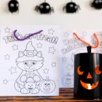 NO-CANDY HALLOWEEN TREAT BAGS FOR PRESCHOOLERS