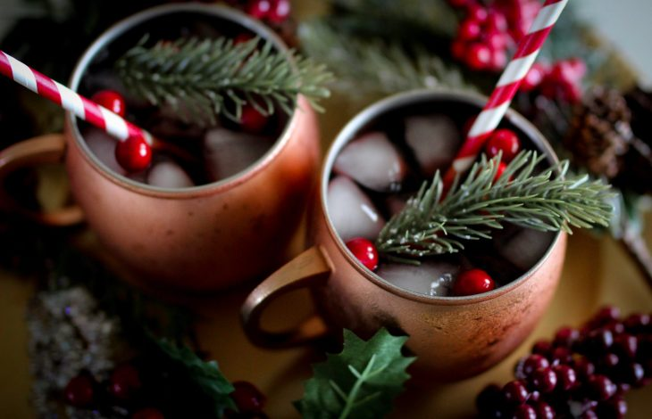 THE BEST HOLIDAY CRANBERRY SANGRIA