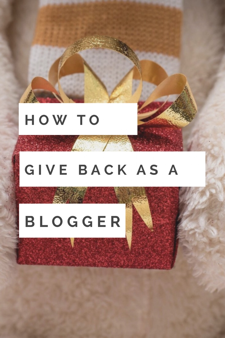 How to give back as a Blogger, influencer, using affiliate links, affiliate sales, holiday charity, donations
