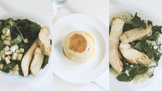 SIMPLE MAKE-AHEAD LUNCHES