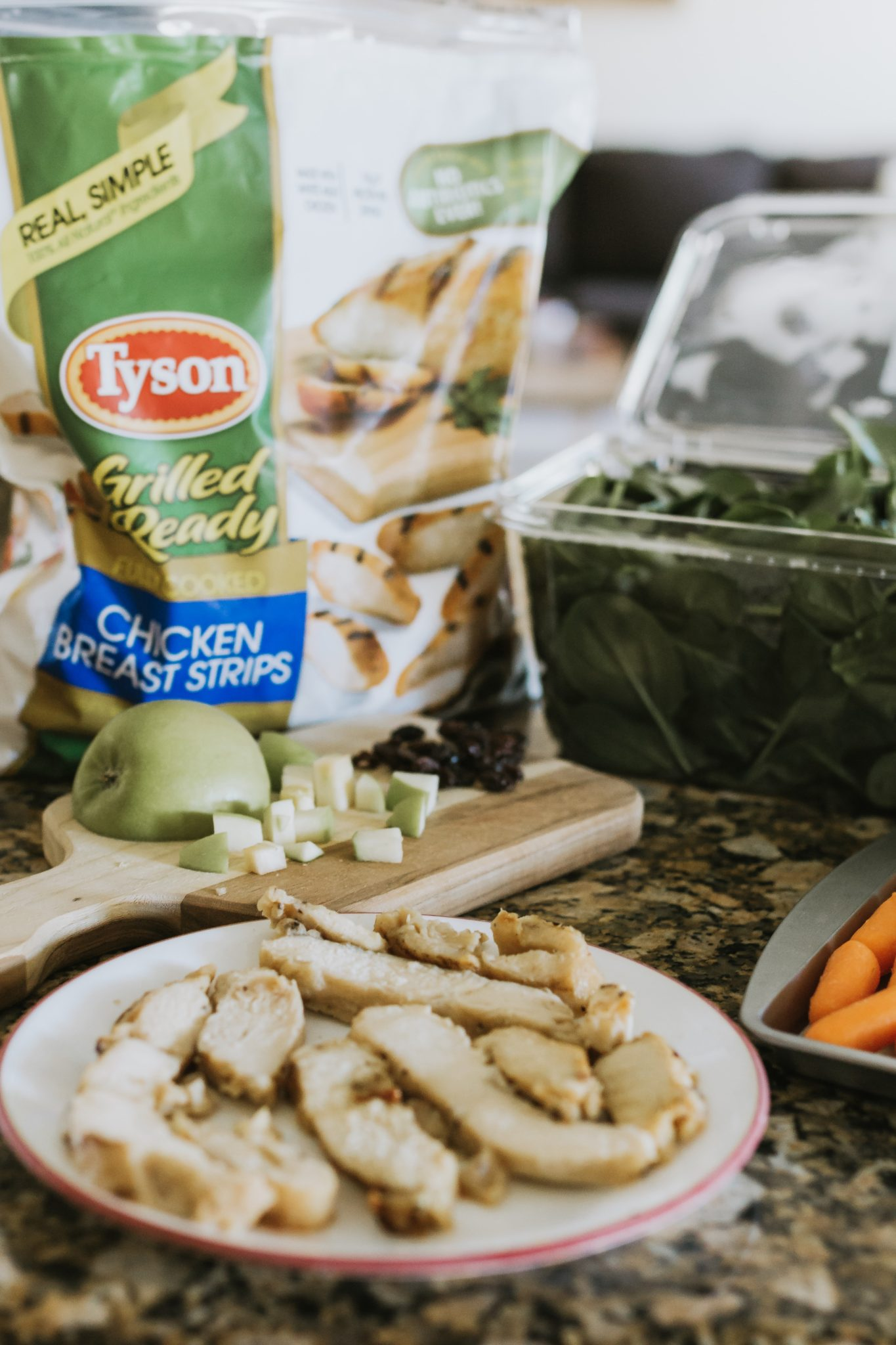 simple make ahead lunch ideas for making prep easier #ad #TysonBetterChoices #SamsClub