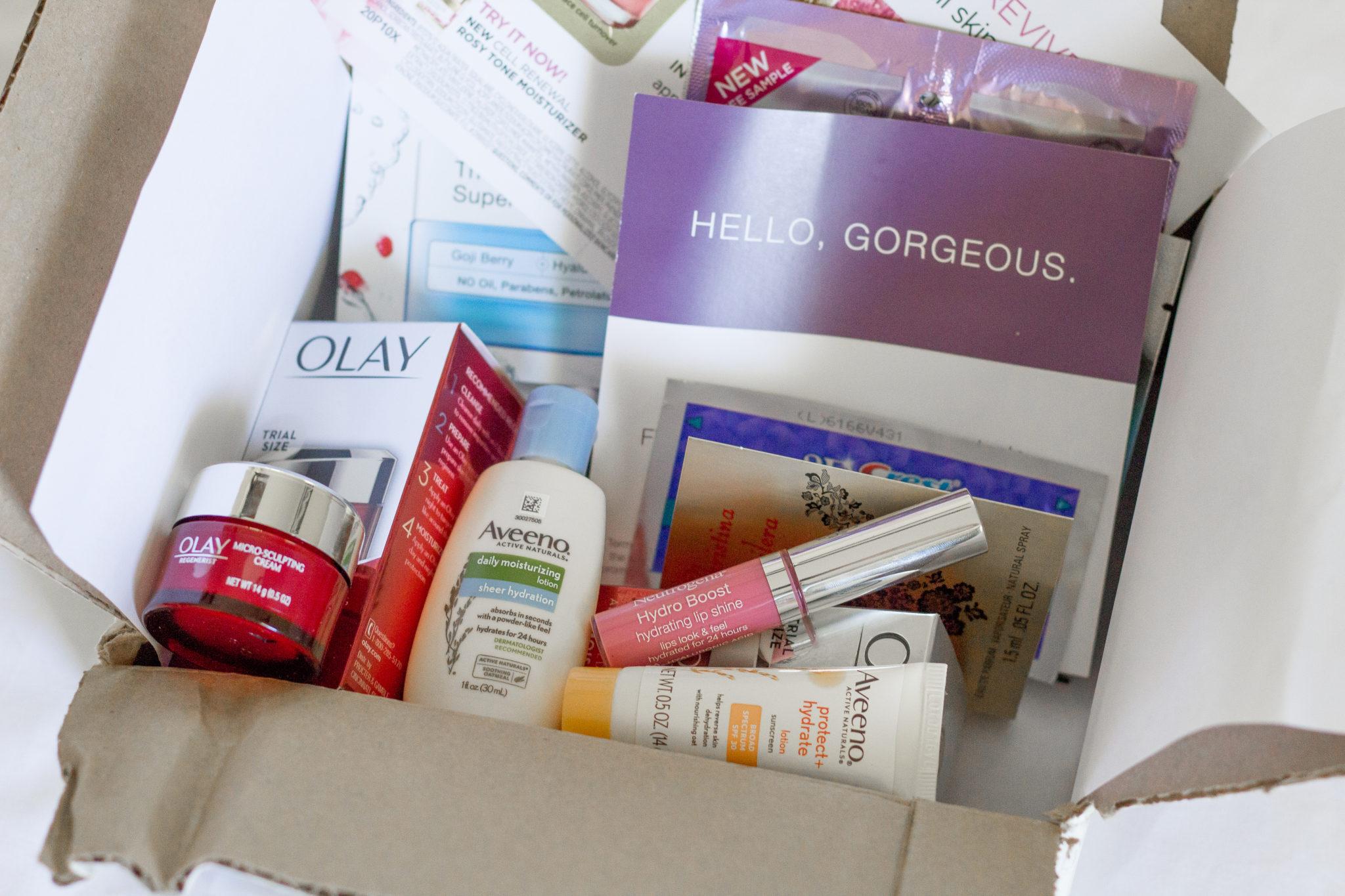 Amazon Sample Box, Self Care Box, Self Care for Moms