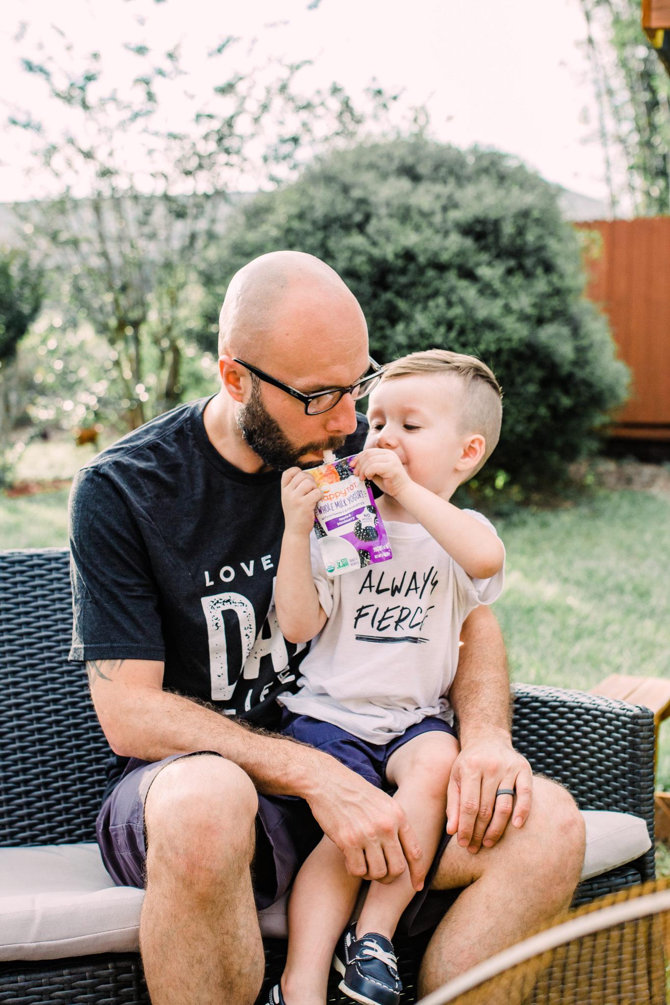 #ad #ThisIsHappy #TargetBaby, Refreshing Summer Treats for Toddlers, healthy snacks for toddlers, organic yogurt pouches, fun ways to enjoy yogurt treats