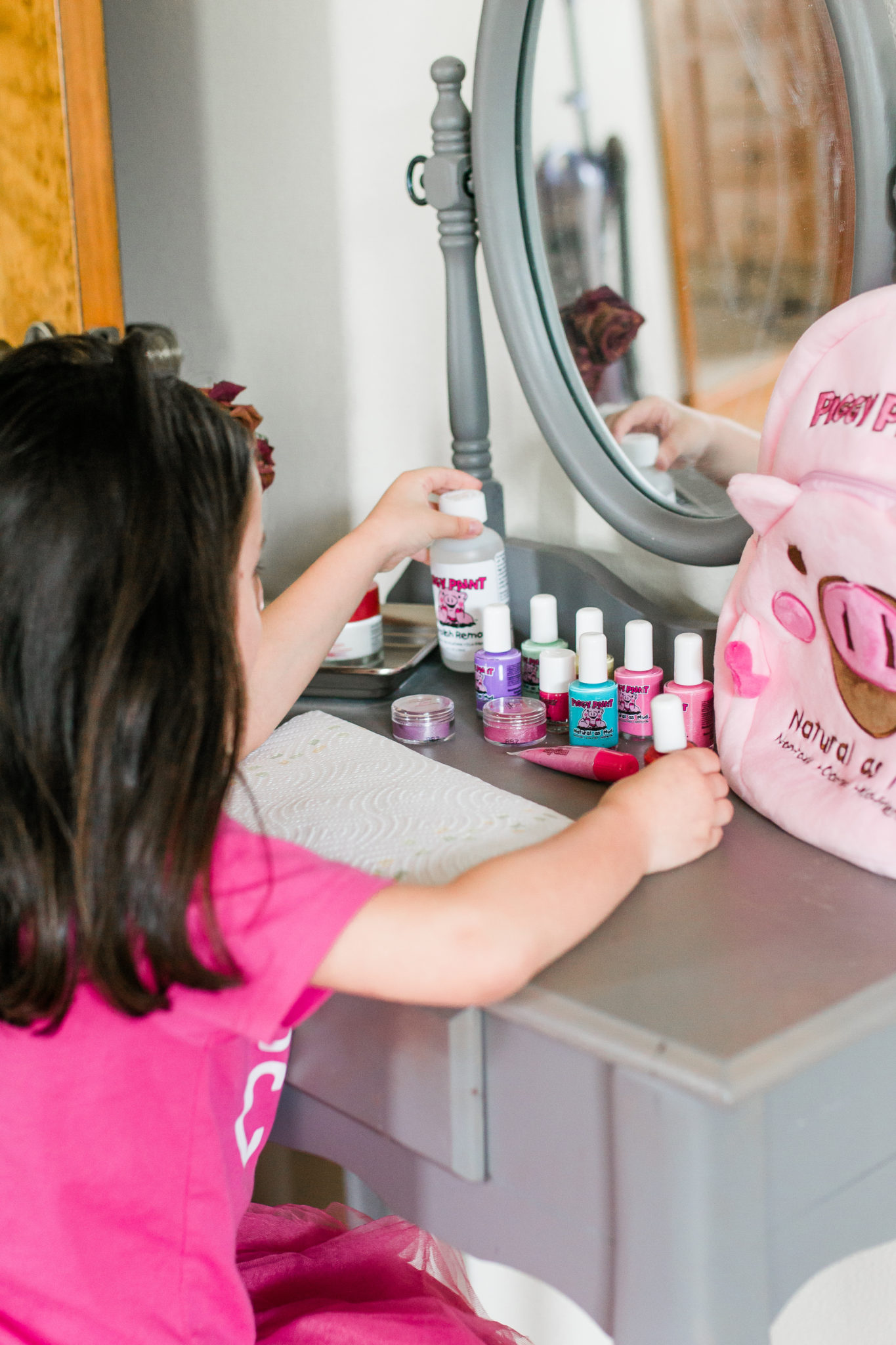 Natural, kid safe, non-toxic nail polish for kids of all ages, Piggy Paint Natural nail polish