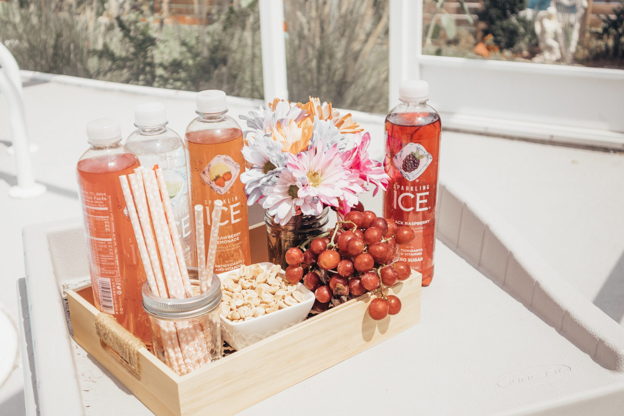 how to create a healthy poolside spread the whole family will enjoy, healthy summer snacks, summer drinks #ad #GetFizzy, Tampa parenting blog mothers blog motherhood blog Florida travel blogger travel influencer healthy mom blogger spring hill florida lifestyle parenting blog best mom blog 2018 Disney blogger