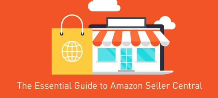 how to use amazon seller central