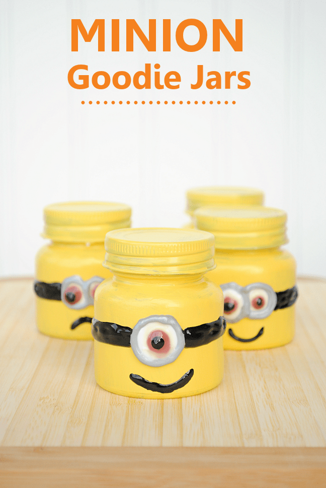 crafts for kids with paper, easy DIY craft ideas for kids, easy paper crafts for kids, DIY craft ideas Minion Party Favors by Crazy Little Projects