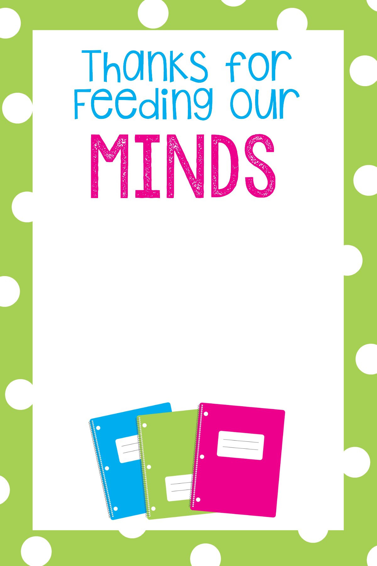 Teacher Appreciation Ts Printable T Card Holders