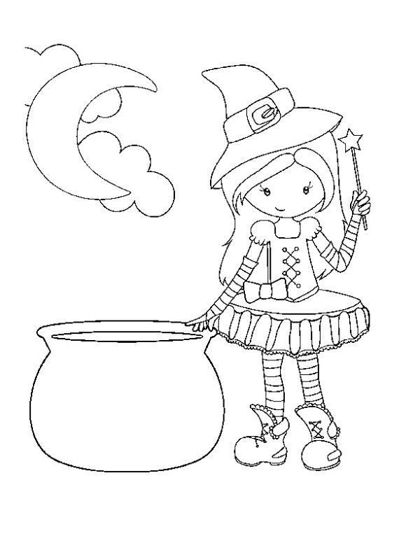 free coloring pages halloween # 72
