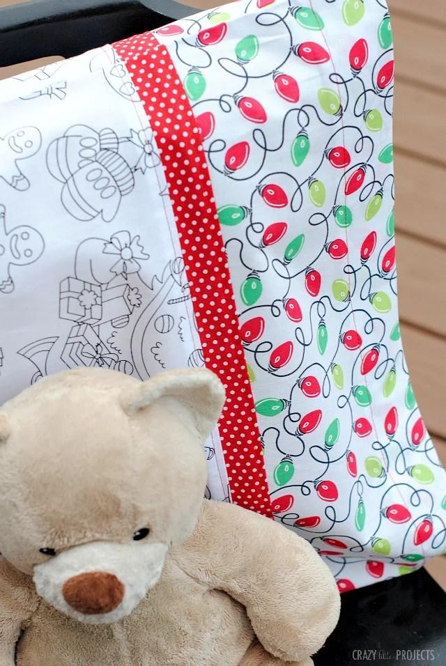 how to make a pillowcase crazy little