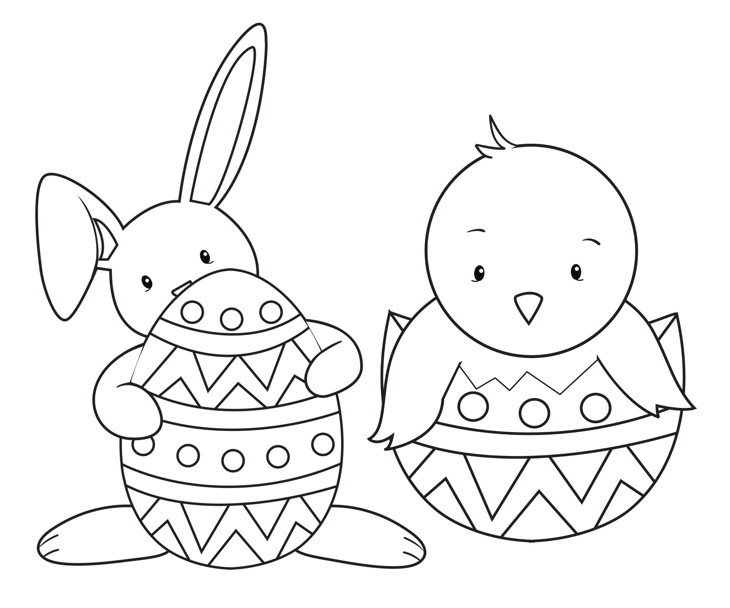 Easter Coloring Pages for Kids - Crazy Little Projects   free printable easter coloring pages for kindergarten
