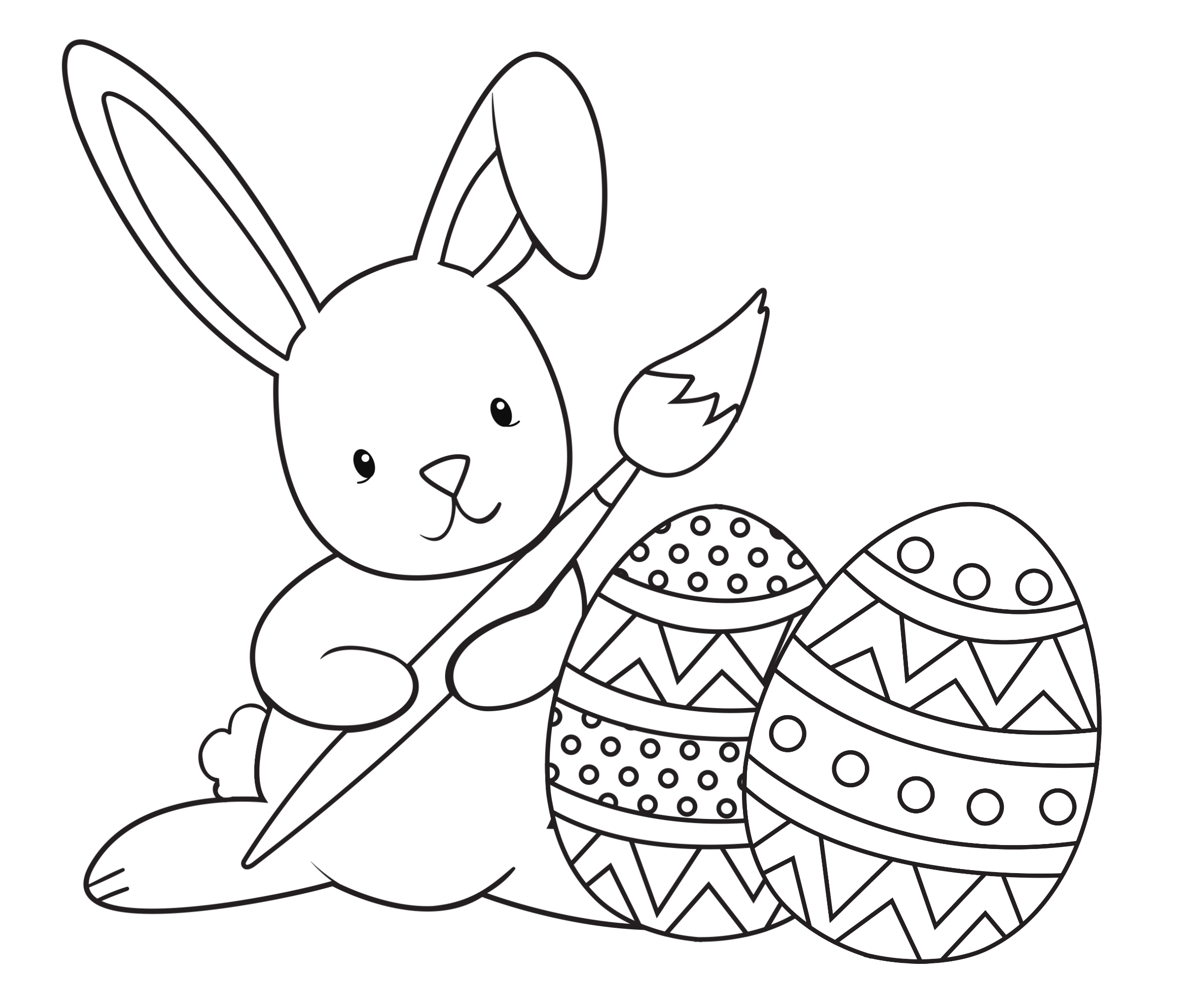 Easter Coloring Pages for Kids - Crazy Little Projects | free printable easter coloring pages for toddlers