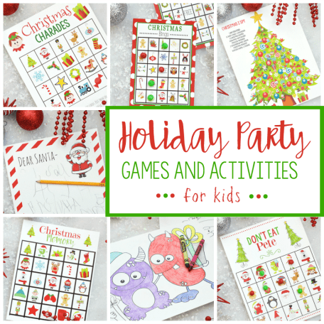 Free Printable Christmas Bingo Game – Fun-Squared