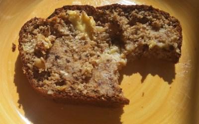 Delicious grain free, sugar free banana loaf
