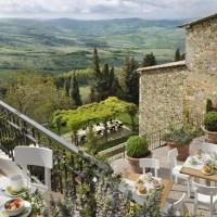 Monteverdi, una villa en la Toscana