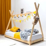 Tent Teepee Canopy Style Wooden Kids Bed Frame Single 3ft Crazypricebeds Com