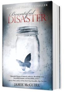 English Book: Beautiful Disaster by Jamie McGuire