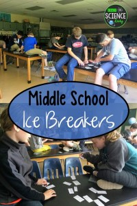 Middle School Ice Breakers that Students LOVE