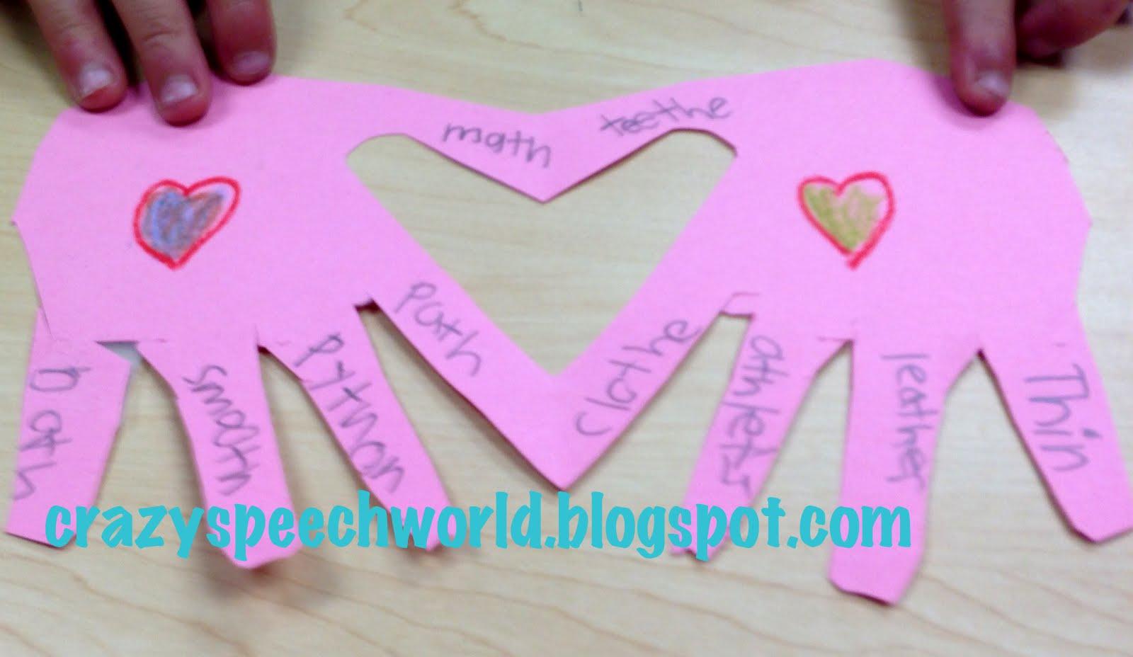Valentine S Craftivity