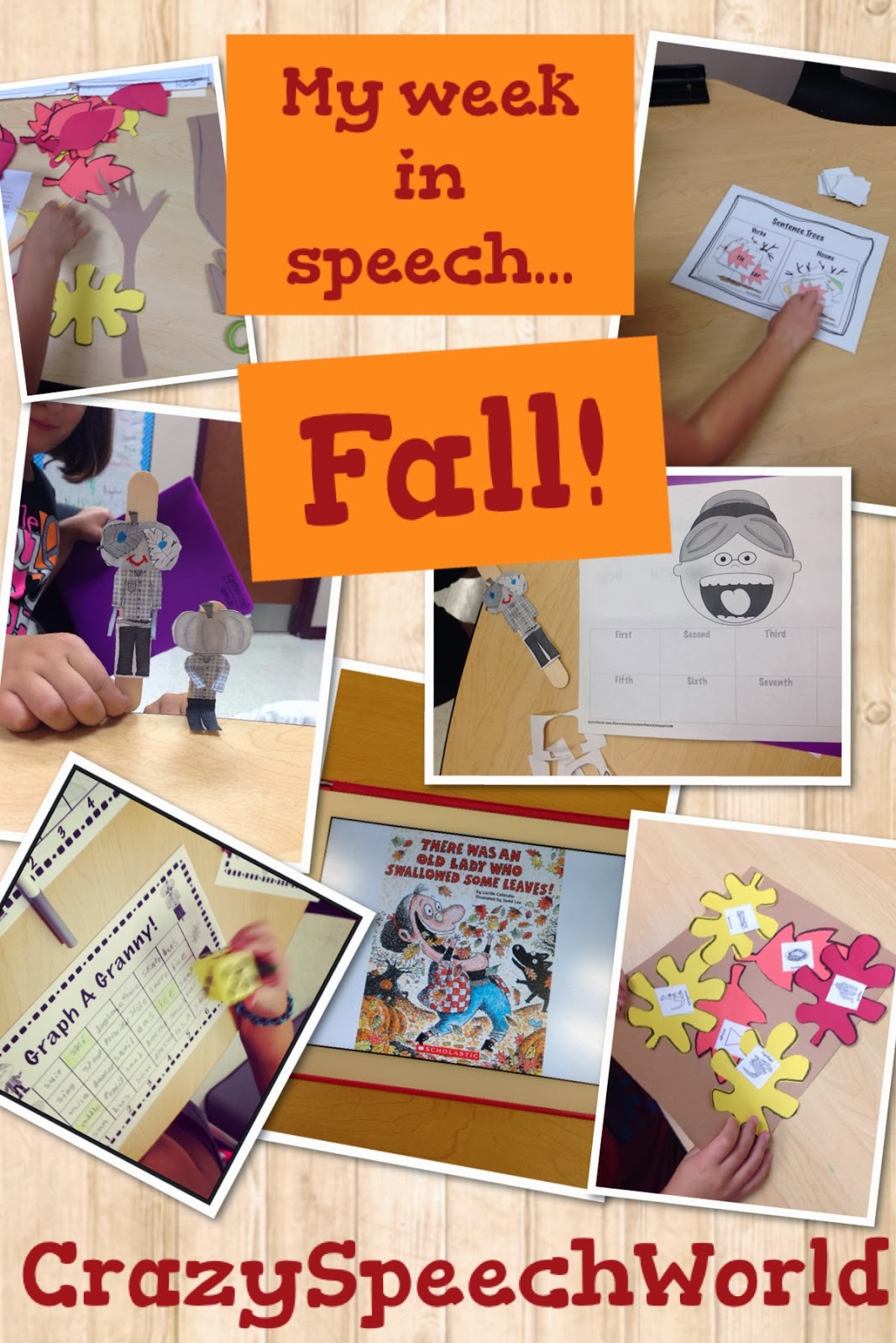 Fall Speech Activities