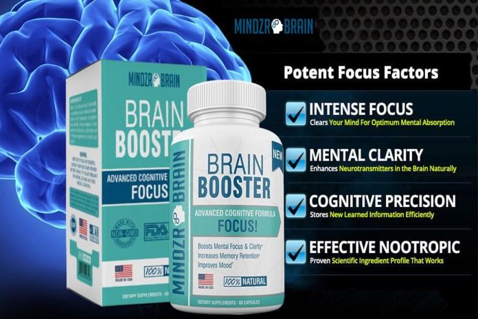 Mindzr Brain Booster Supplement