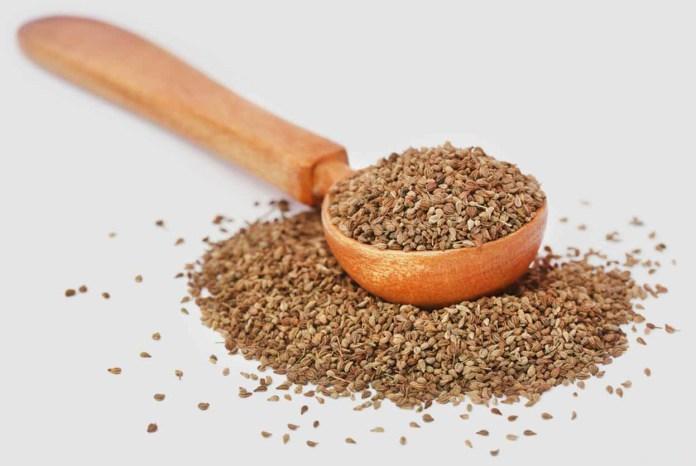 carom seeds water