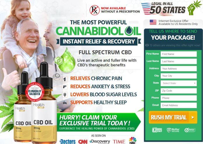 Health Gold CBD Oil