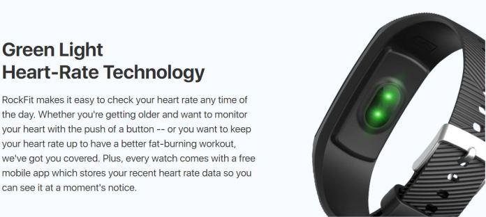 RockFit Fitbit Fitness Tracker