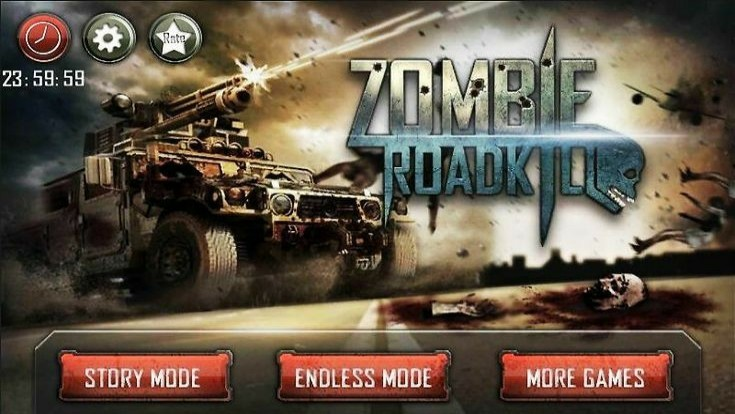 Zombie Roadkill 3D, Arcade Games for Android, Best Arcade Games