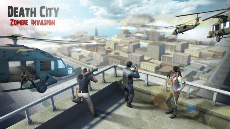 Death City: Zombie Invasion,Best Adventure Games for Android