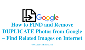 [Updated 2018] How to FIND and Remove DUPLICATE Photos from Google – Google Photos Duplicate