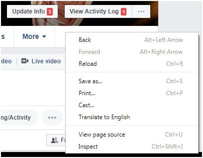 Track Facebook Profile Visitors on Browser