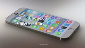 iPhone 6S Specifications