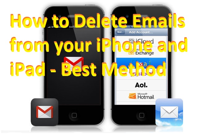 How to Delete Emails from iPhone and iPad - Best Method