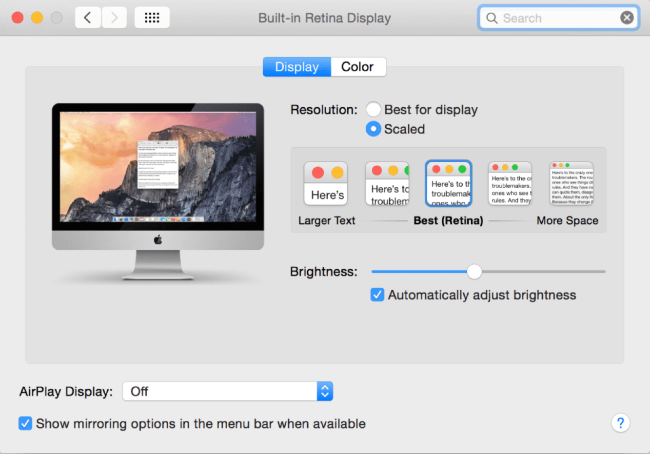How to Adjust Your Mac Screen Brightness Manually and Automatically