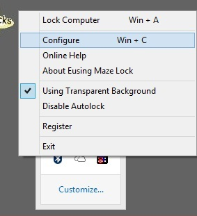 Set Pattern Lock on Windows OS 7, 8, 8.1 and 10