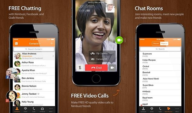 Nimbuzz Messenger Best Android App to make Free Calls - National or International Free Mobile Calling