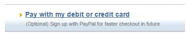 pay using your Debit Credit card on your PayPal - transfer money