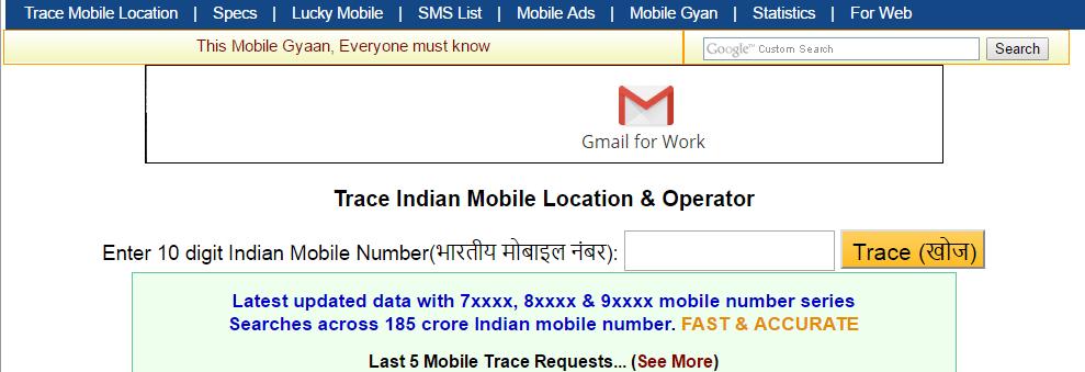 Tracking Mobile number Find name Address location details