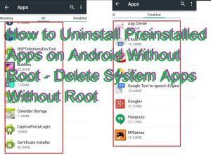 How to Uninstall Preinstalled Apps on Android Without Root – Delete System Apps Without Root