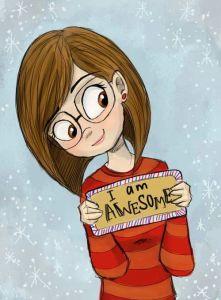 cartoon -im awesome
