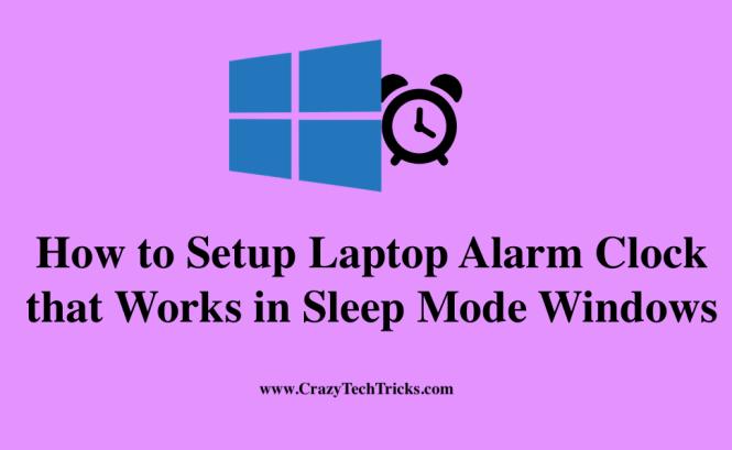 Alarm Clock That Works In Sleep Mode