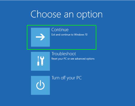 Windows will take some time to reset it. Prompt Continue button when asked- How to Reset Windows 10 on PC-Laptop Without any Software- CD or Password