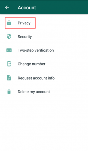 how we can setup WhatsApp fingerprint lock on Android phone