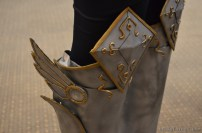 ... und die Stiefel von Lux.