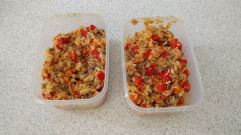 Sambal fried rice with tuna